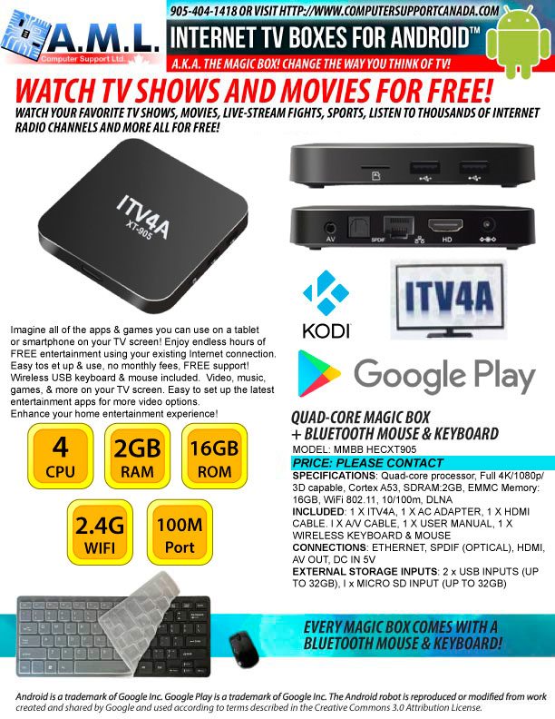 Android TV Box! Watch all your favourite shows and movies